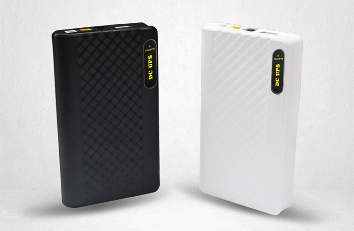 mini ups 5v 9v 12v portable battery pack power bank