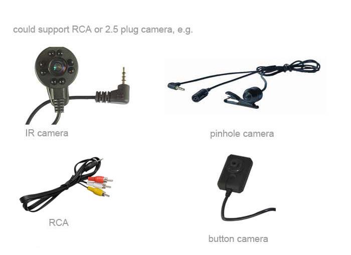 portable digital audio video mini dvr recorder with lcd screen