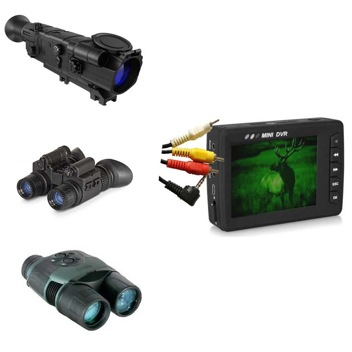 mdvr small video recorder for night vision thermal hunting