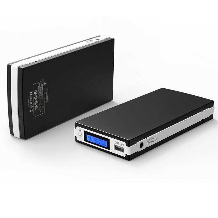 portable 5v 12v 16v 19v power bank battery pack techmaxing. Black Bedroom Furniture Sets. Home Design Ideas