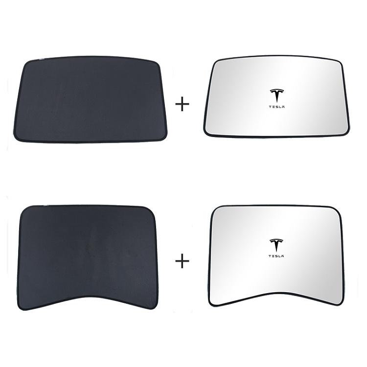 Car Sunroof-Shade-Foldable-Sunshade-For-Tesla