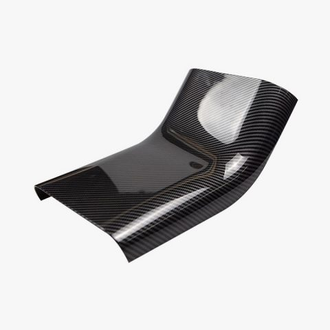 Car-anti-kick-bar-decoration-stripe-cover-for-tesla-model-3