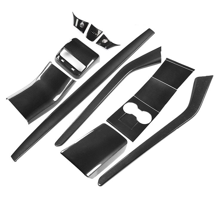 Car-dashboard-bar-decoration-stripe-cover-for-tesla-model-3