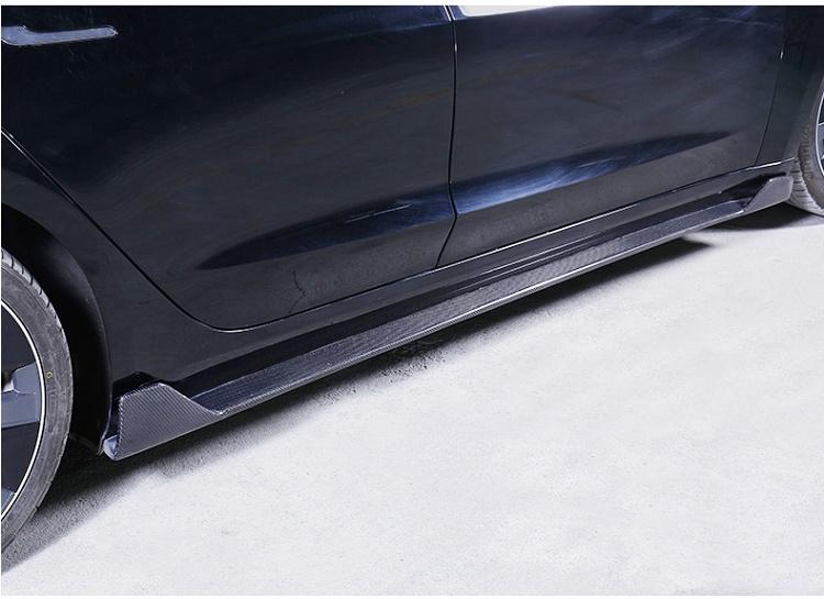 car-side-skirt-for-tesla-model-3
